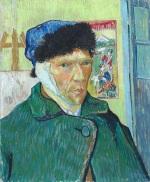 Vincent van Gogh sneed heel zijn ooraf