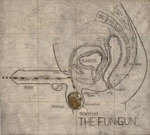 Judith Bernstein - Fun Gun
