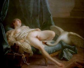 Francois Boucher - Leda en de Zwaan