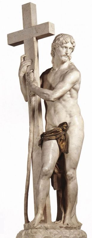 Michelangelo Buonarotti - Jezus die het kruis draagt