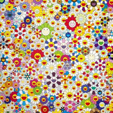 Takashi Murakami - Bloemen