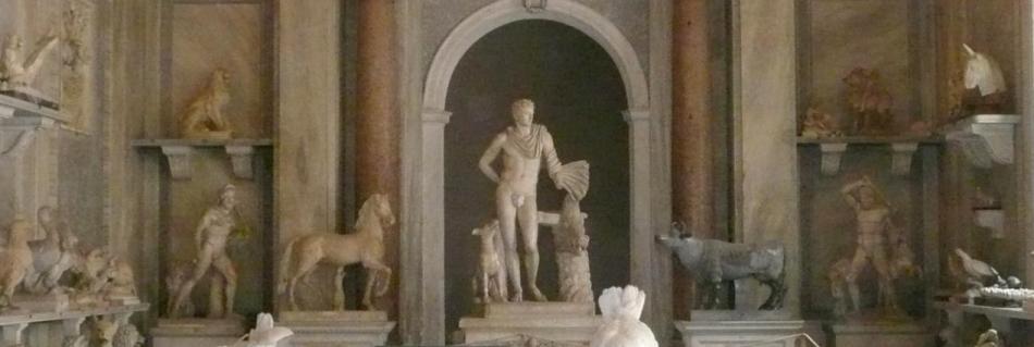 Beelden met Vijgenblad in de Vaticaanse Musea