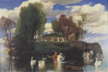 Arnold Böcklin - het Levenseiland