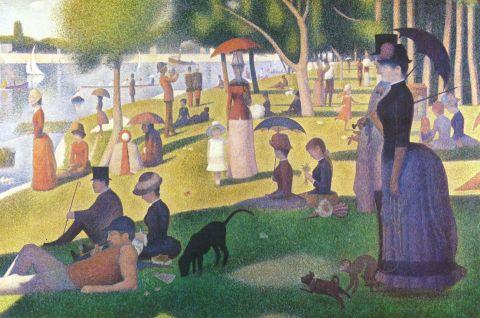 Georges Seurat - Un dimanche après-midi à l'Île de la Grande Jatte