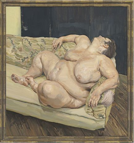 Lucian Freud - Benefits Supervisor Resting