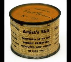 Pietro Manzoni - Artist's shit