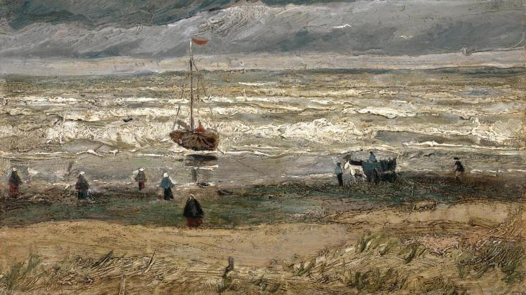 Vincent van Gogh - Zeegezicht bij Scheveningen