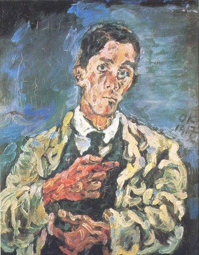 Oskar Kokoschka - Zelfportret