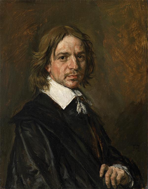 Frans Hals Vervalsing - Portret van een Man