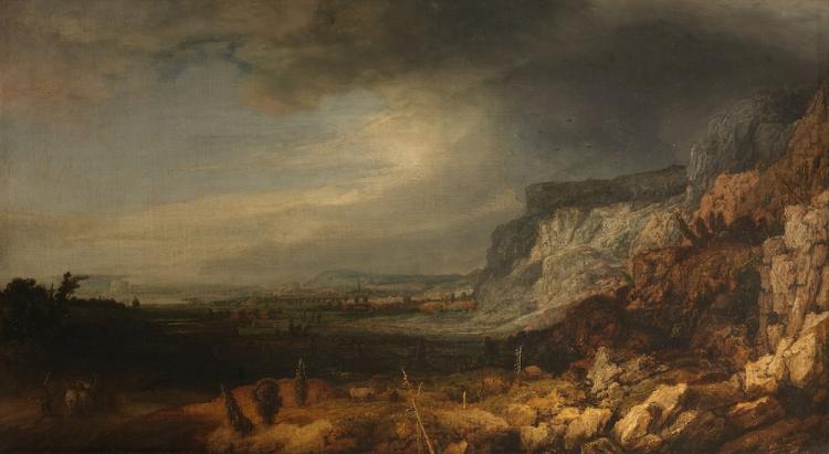 Hercules Segers - Bergvallei