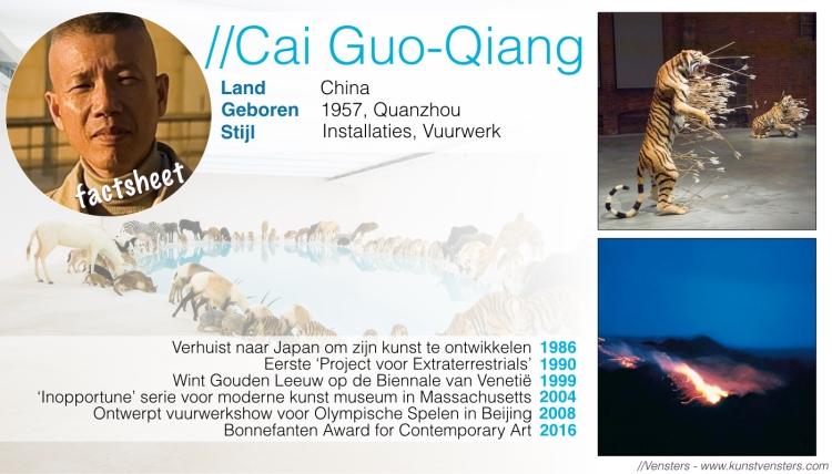 Factsheet Cai Guo-Qiang