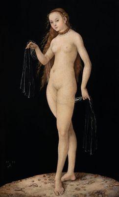 Lucas Cranach Vervalsing - Venus