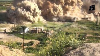 Nimrud - Explosie bij overblijfselen Assyrisch paleis