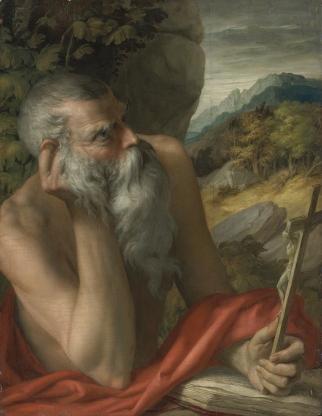 Parmigiano - Sint Hieronymus