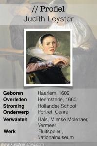 Profiel Judith Leyster
