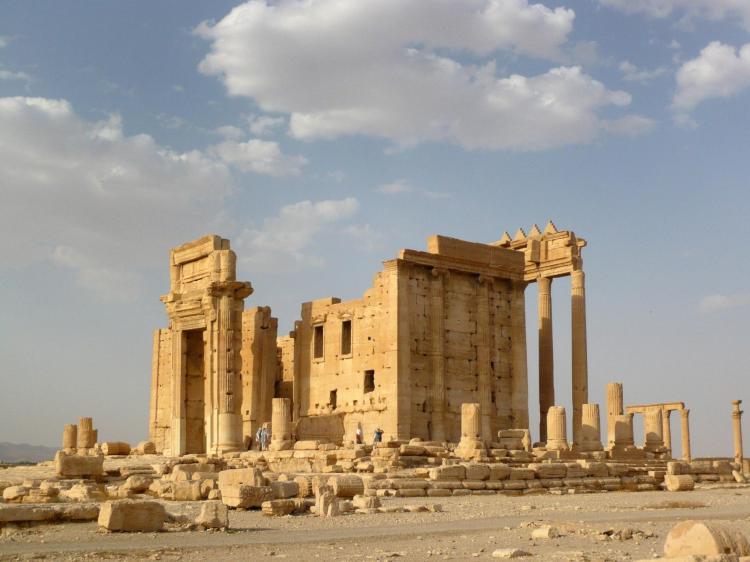 de Tempel van Baal in Palmyra