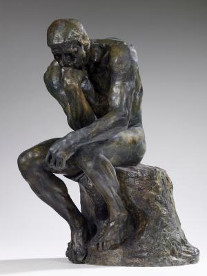 Auguste Rodin - de Denker