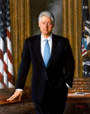 Simmie Knox - Bill Clinton