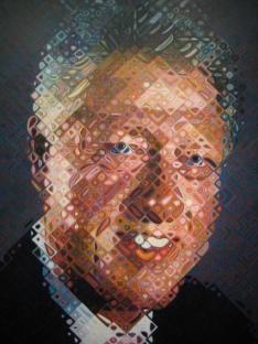 Chuck Close - Bill Clinton