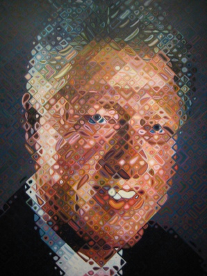 Chuck Close - Bill Clinton