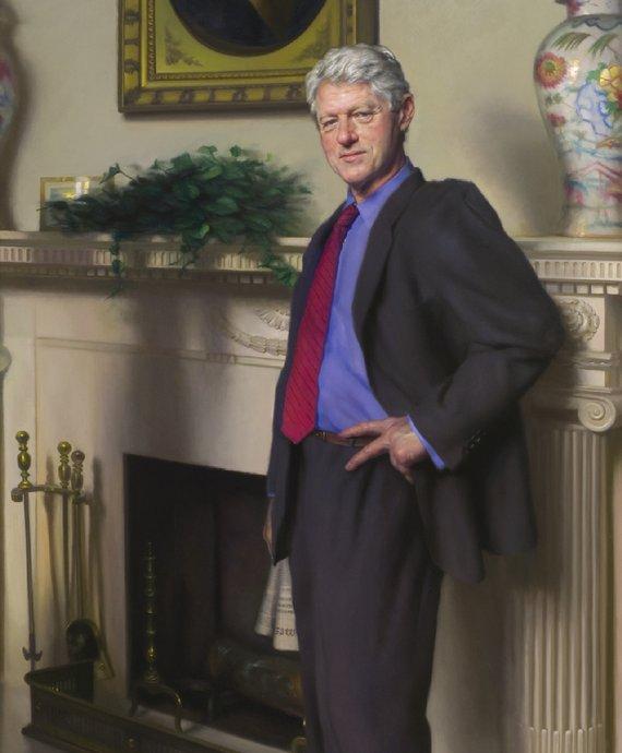 Nelson Shanks - Bill Clinton
