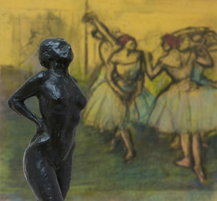 Edgar Degas - Danseres in Rusthouding