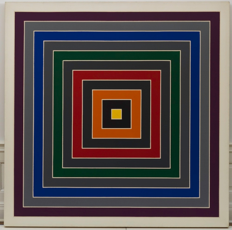 Gray Scramble, 1968-69 Oil on canvas, 175.3 x 175.3 cm Solomon R. Guggenheim Foundation, Hannelore B. and Rudolph B. Schulhof Collection, bequest of Hannelore B. Schulhof, 2012