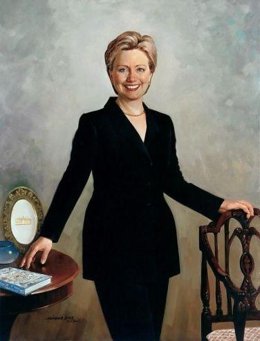 Simmie Knox - Hilary Clinton