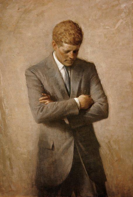 Aaron Shikler - John F. Kennedy