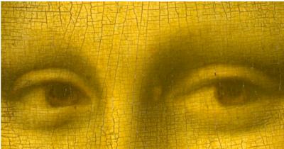 Leonardo da Vinci - Mona Lisa (detail)