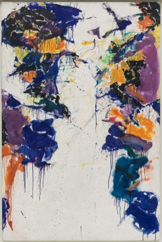 Sam Francis, Shining Back, 1958