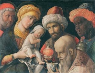 Andrea Mantegna - de Aanbidding van de Koningen