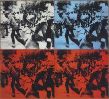 Andy Warhol - Race riot
