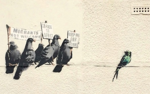 Banksy - Muurschildering