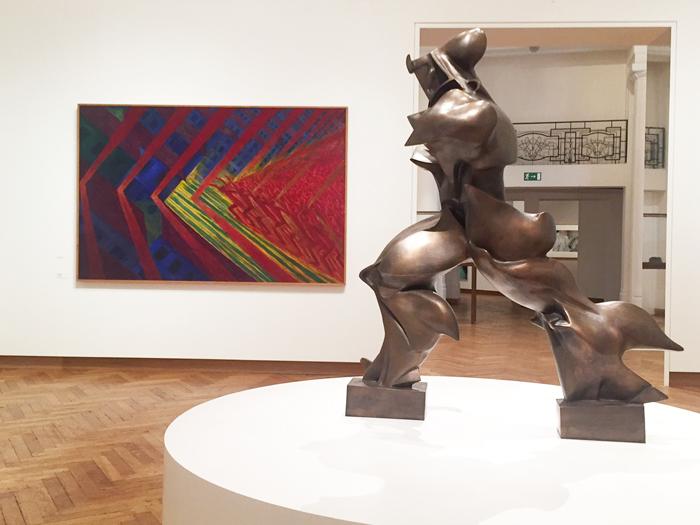 Zaaloverzicht Power of the Avant Garde