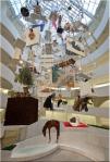Maurizio Cattelan in Guggenheim Museum