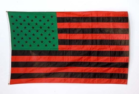 David Hammons - African American Flag