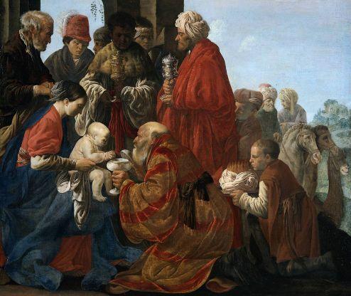 Hendrik ter Brugghen - de Aanbidding van de Koningen