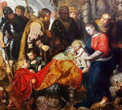 Jacob Jordaens - de Aanbidding van de Koningen