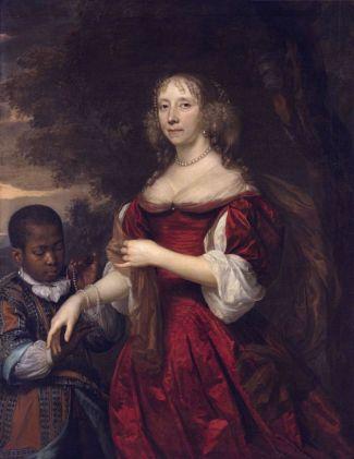 Jan Mijtens - Portret van Margareta van Raephorst