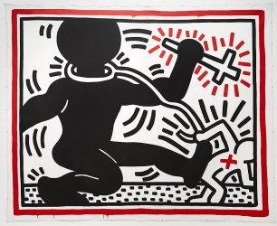 Keith Haring - Apartheid