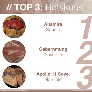 Prehistorie - Top 3 Rotskunst