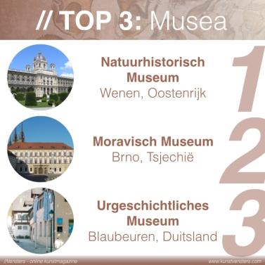 Prehistorie - Top 3 Musea