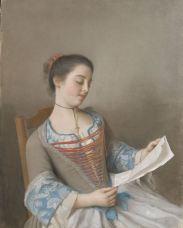 Jean-Étienne Liotard - La Liseuse