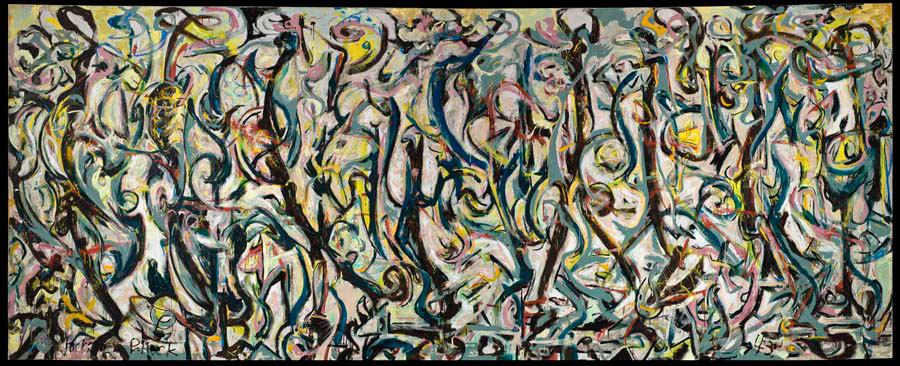 Jackson Pollock - Mural