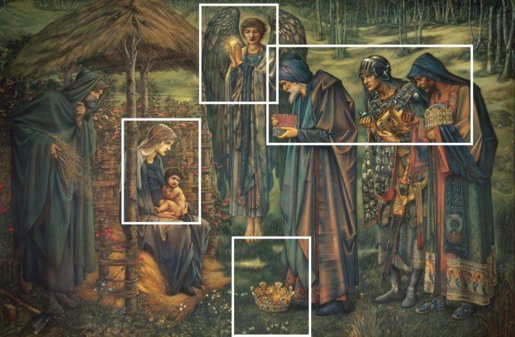 Edward Burne Jones - the Star of Bethlehem