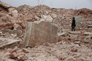 Schade in Nimrud