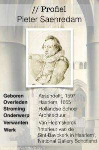 Profiel van de Gouden Eeuw - Pieter Saenredam