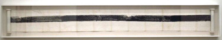 Robert Rauschenberg - Automobile tire print