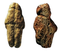 Venus van Tan Tan (links) en van Berekhat (rechts)